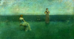 Thomas Dewing, TheRecitation, 1891